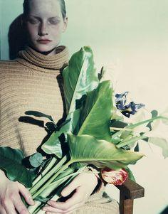 shoulderblades:  kirsten #4, jean-françois lepage for jil sander (unpublished polaroid), 1990