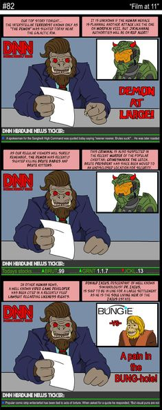 Another Halo Comic Strip Halo Collection, Funny Games, Tumblr Funny, Comic Strips, Master Chief, Funny Stuff, Gaming, Comics, Film