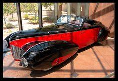 1939 Aero Model 50, Special convertible.