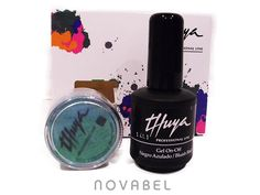 Imagen de Pack Gel On-Off Negro azulado Pure Pigment Scarlet THUYA