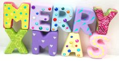 Our free-standing craft letters are easy to paint, decorate or embellish.