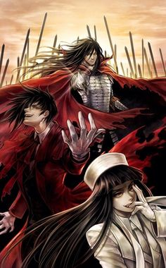 Tags: Anime, Hellsing, Alucard (Hellsing), Alucard (Female), Tetra Takamine did anyone else cry when he disappeared for 30 years Me Me Me Anime, Anime Guys, Manga Anime, Anime Art, Hellsing Alucard, Hellsing Ultimate Anime, Seras Victoria, Animes Yandere, Awesome Anime