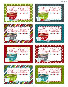 Paper crafting obsession christmas planner free printable enjoy these really fun free printable labels for homemade baked christmas foods these christmas labels forumfinder Images