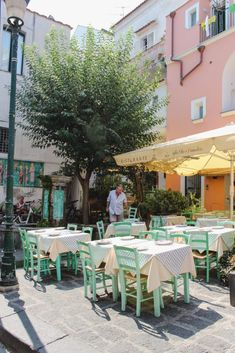 Travel Guide to Ischia, Italy - Petite Suitcase Naples Airport, Best Of Italy, Naples Italy, Italy Travel, Italy Trip, Beach Shack, Wooden Decks, Amazing Destinations, Travel Destinations