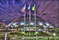 Civic Arena in Pittsburgh by Dave DiCello, via 500px