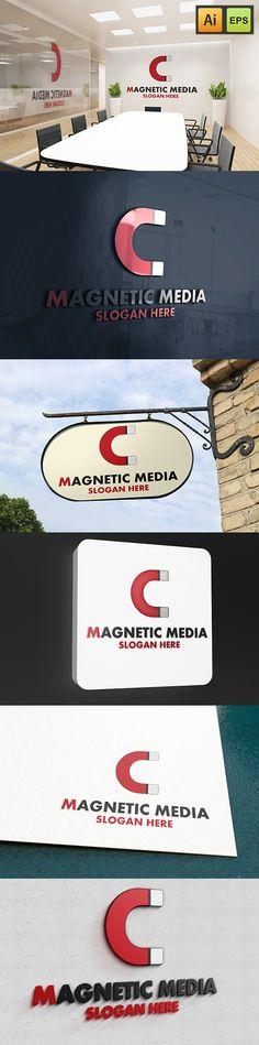 """@Behance projeme göz atın: """"Magnetic Media""""…"""