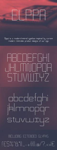 Elppa Free Font