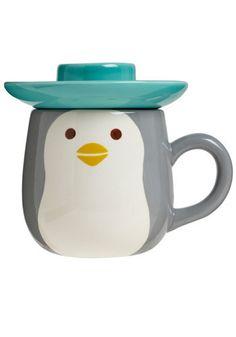 Penguin mug from Modcloth $28.99