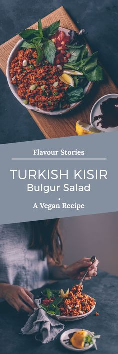 TURKISH KISIR (BULGUR SALAD)
