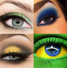 Eyes Makeup! It's not only 20 cents #changebrazil