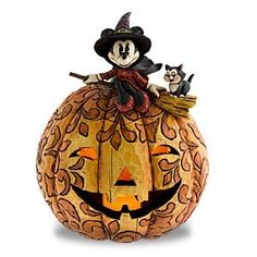 Jim shore- Minnie Mouse and pumpkin
