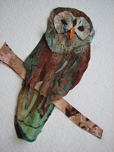 paper owl art