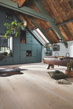 Top Bungalow Home Renovation Ideas Loft House, My House, Style At Home, Modern Barn House, Interior Styling, Interior Design, Casas Containers, Luxury Flooring, Bungalow Homes