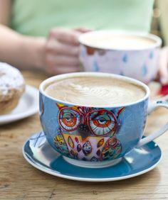 Artful Owl Cup