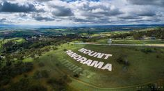 Aerial photo of mount panorama after all the rain looking so green Mount Panorama, V8 Supercars, Go Kart, Super Cars, Rain, Australia, Places, Sports, Photography