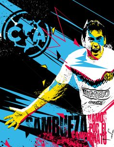Ren♥ Club America, Real Madrid, Movies, Movie Posters, Rey, Athletes, Angel, Football Drawings, Champs