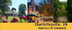 Charlottesville VA - America's #1 Community