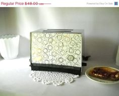 Vintage Toaster Electric Toaster Westinghouse Retro Atomic Pop Up Toaster 1950s Kitchen