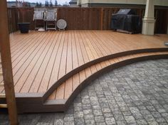 houzz deck designs | Curved Deck Design Ideas, Pictures, Remodel, and Decor
