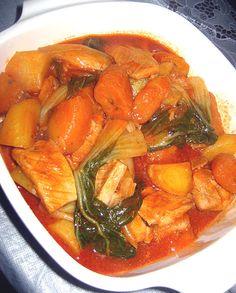 Pochero | Filipino Recipes, Dishes And Delicacies http://www.filipinofoodsrecipes.com/2009/12/pochero.html #FilipinoFoods #FilipinoRecipe