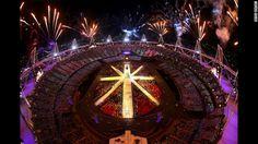 La clausura de los Olímpicos