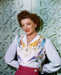 Myrna Loy (color, 1944)