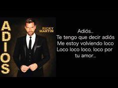 Ricky Martin - Adiós (Spanish Version) (Cover Audio) - YouTube