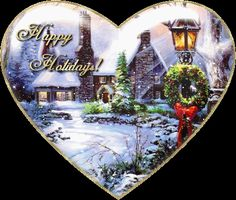 Christmas animated gifs - Hearts