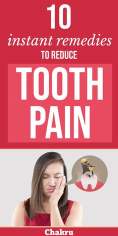 Tooth ache can get excruciating at times and it is necessary you must know how to combat the tooth pain at times of emergency to soothe yourself. If you want to know some easy and natural remedies for tooth ache then click the link and read more. Oral Health, Health And Wellness, Sore Tooth, Remedies For Tooth Ache, Neck And Back Pain, Health Tips For Women, Natural Home Remedies, Health Remedies, Pain Relief