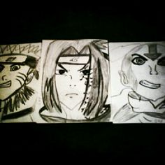 My first drawings