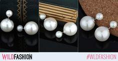 Sezonul acesta apeleaza la clasicele perle, mai ales cand vin sub forma unor cercei din argit cu un design cool! Like & Buy!
