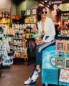 """443.6k Likes, 1,563 Comments - Shay Mitchell (@shaymitchell) on Instagram: """"Nothing to see here folks, just me, sitting in the gas station eating my funyuns while Sammy tries…"""""""