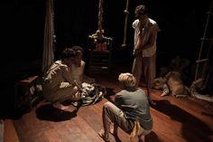 Espetáculo Capitães de Areia no Teatro Nelson Rodrigues
