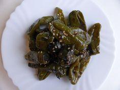 contorno di peperoncini con salsa di soia