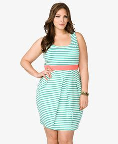 Striped Tulip Dress $22.80