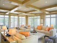 abgehangte decke mit beleuchtung beleuchtung bewusst verwenden ... - Moderne Wohnzimmerlampe