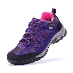 The First Outdoor Womens Purple Hiking Shoe 85 US *** You can get more details by clicking on the image.