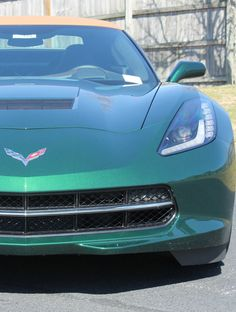 'Stay classy' with this Corvette Stingray Premier Z51 #americanmuscle #spon