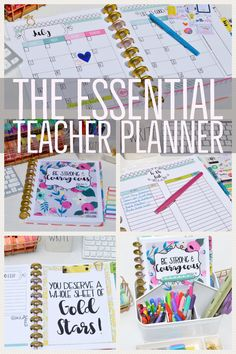 Teacher Planner - planner organization - planner - planner for teachers - planners for teacher