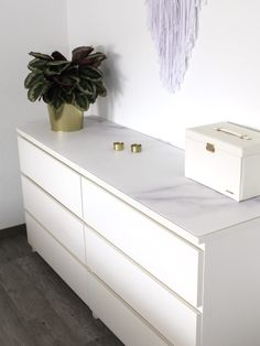 Ikea Chest Of Drawers, Kitchen Dining, Dining Room, Modern, Dresser, Contact Paper, Design, Diy, Furniture