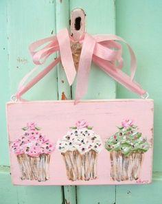 Cute Cupcake Sign