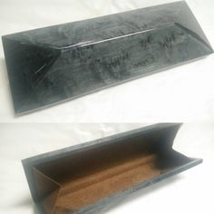 Cleopatra Evening Purse Bag in Birds Eye Maple Burr Dyed Green Colored Veneer carefully handcrafted by Consummare Inc.
