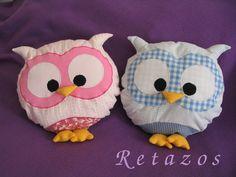 almohadones decorativos infantiles búho-lechuza