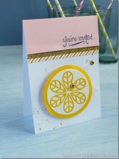 summer party card-tutorial-sizzix bigshot plus starter kit