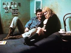 Terence Stamp and Carol White in Poor Cow, directed by Ken Loach, based on Nell Dunn's novel of the same name, 1967.