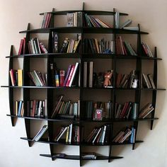 Modern bookcase can be a creative idea for part of room decoration. Bookcases can become one of most cool and modern design in your home decoration.