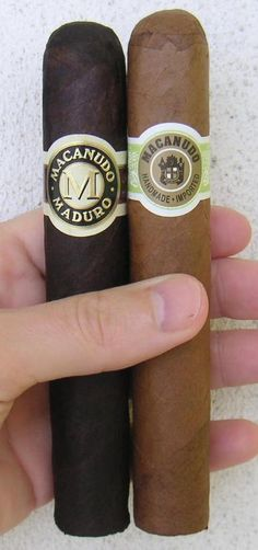 Macanudo Maduro and Cafe Gigante Cigars - 2012 © Gary Manelski Licensed to About.com, Inc.