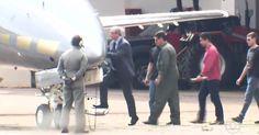 Eduardo Cunha chega a Curitiba e é levado à sede da Polícia Federal