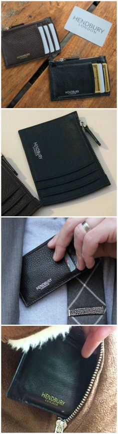 The Hendbury Sloane Edition Card Holder is designed for the modern working lifestyle.