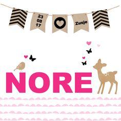 #geboortekaartje #meisje #hipdesign #roze #slinger #hertje Babyshower, Playing Cards, Kids Rugs, Fun, Shower Baby, Kid Friendly Rugs, Baby Shower, Playing Card Games, Baby Showers